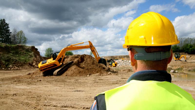 Städning och hjälp på byggarbetsplatser