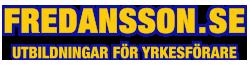 Fredansson - Utbildningar för yrkesförare